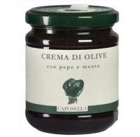CAPOSELLA - Olive sauce with pepper and mint