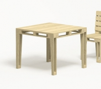 GAVA IMBALLAGGI - Teco tavolo quadrato