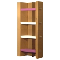 SABOX – Cardboard bookcase